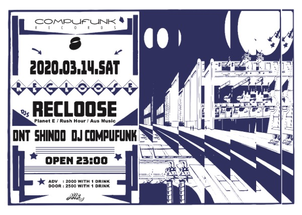 20200314_Recloose@CompufunkRecords